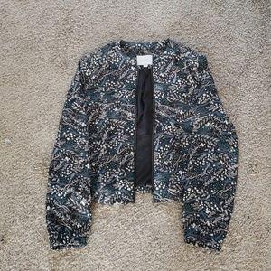 LOFT cardigan type acket